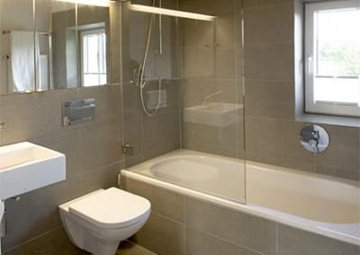 alpenblicke - badezimmer