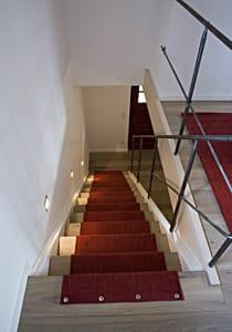 alpenblicke - treppe zur dachkammer