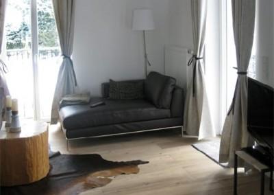 alpenblick - wohnzimmer